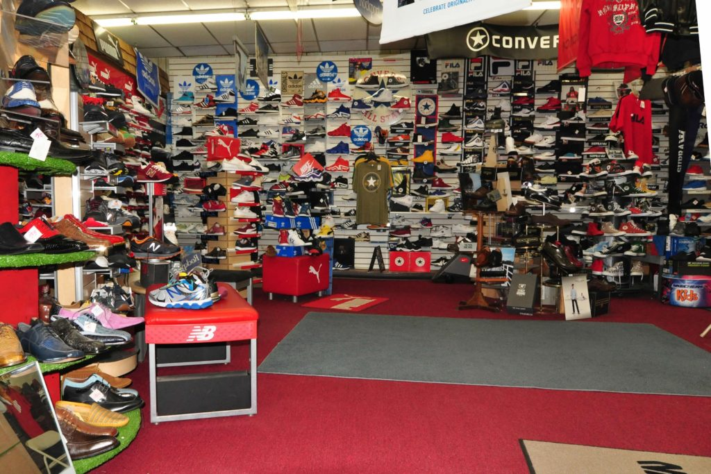 Shoe selection